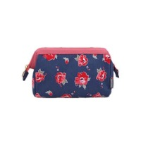 Flower Printed Makeup Pouch