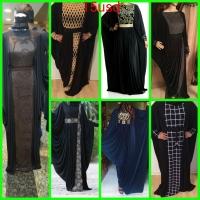 Women's Black Abaya 2016
