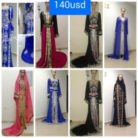 Wholesale Dubai Beautiful Kaftans 2016