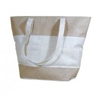 Simple Jute Cotton Bag