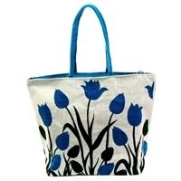 Blue Floral Bag
