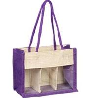 Violet PVC Bag