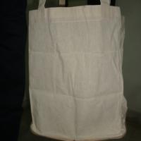 Folded Jute Cotton Bag