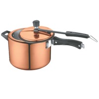 Copper Inner Lid Pressure Cooker