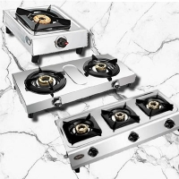 Elegant And Durable Stainless Steel Gas Stove