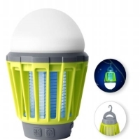LED Lamp With Mosquito Killer Grid