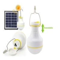 Solar LED Light With Power Bank
