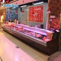 Supermarket Meat Display Fridge