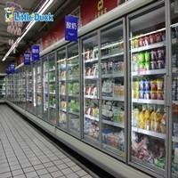 E7 Auckland Supermarket Glass Door Refrigerator