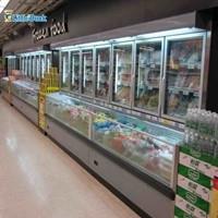 E7 St.pawl Combination Display Refrigerator
