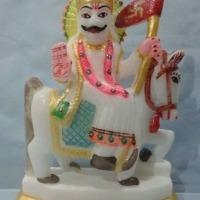 Jaharpir Baba Marble Statue
