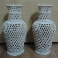Handicraft Marble Jali Flower Vase