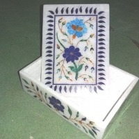 Vintage Hand Carved Jewellery Box