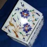 Handmade Carnelian Malaquite Gifts Box