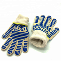 Heat Resistant Bbq Silicone Oven Glove