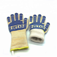 High Quality Silicon Glove Heat Resistant Bbq