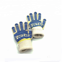 Heat Resistant Factory Bbq Grill Gloves
