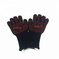Heat Resistant Grilling Tool Set Grill Gloves