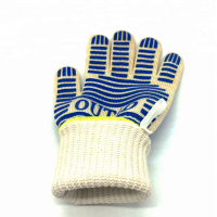 BBQ Silicon Heat Resistant Cooking Gloves