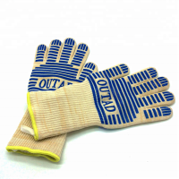 Heat Resistant Bbq Grill Gloves