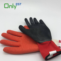Protective Work Rubber Coated Safety Gloves