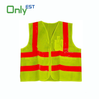 High Visibility Reflective Safety Vest With Tape
