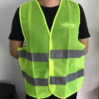 100% Polyester 60G Knitted Fabric Safety Vest