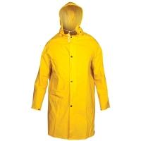 Yellow Nylon Raincoat Womens