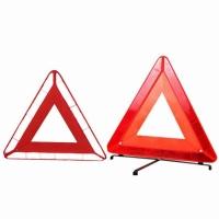 Triple Warning Triangles Emergency Roadside
