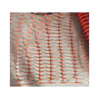 Orange Safety Mesh Warning Netting