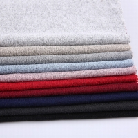 Polyester Dty Single Jersey Brush Knit Fabric