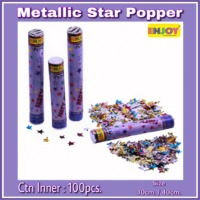 Metallic Star Popper