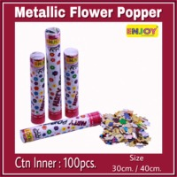 Metallic Flower Popper