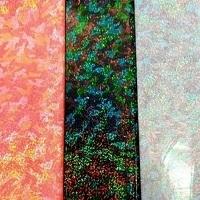 Nylon Lycra Hologram Printed 270g/yd Knit 58/60