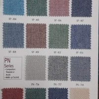 Poly Chenile P/D Back Coated Woven 50/52
