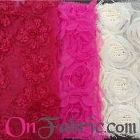 Mesh Tape Embroidery Fabric