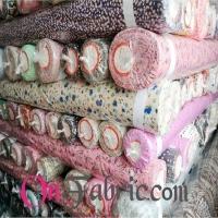 Poly Peach Skin Print Woven Fabric