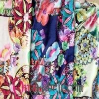 Poly DTY Spandex Jacquard Print Knit