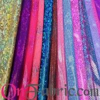 Nylon Lycra Hologram Printed Knit