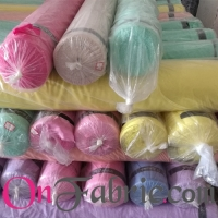 Poly Twill Chiffon Solid Woven