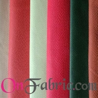 PU Leather Solid Woven Fabric