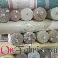 Poly Printed Woven For Curtain 280CM