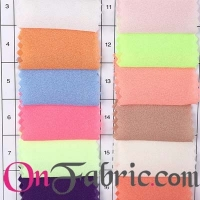 Poly Chiffon Georgette Solid Woven