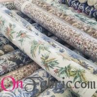 Cotton/Linen Print Shirting