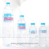 Frozen Mineral Water