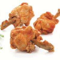 Chicken Wing BBQ Lolipops