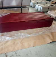 Wave Corrugated Metal Prepainted Steel