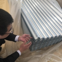 Corrugated Color Coated Metal Roofing Sheets