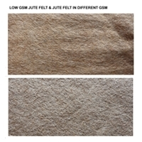 Jute Felt In Different Gsm