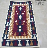 Indian Wool Kilim Durries